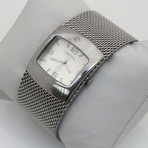 Kenneth Cole Reaction Ladies Watch Silver Wide Mes
